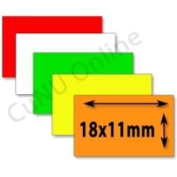 18x11mm Etiketten für contact premium 6.18 Preisauszeichner