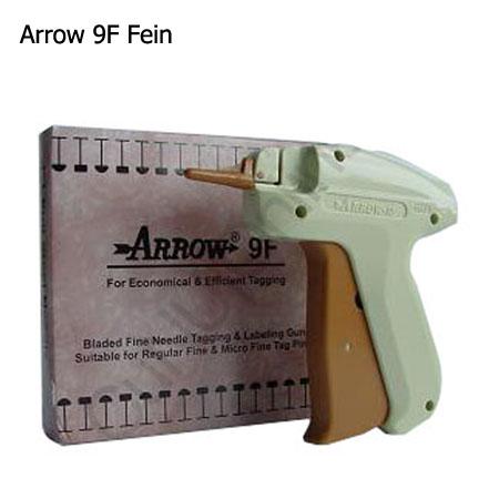 Textilpistole mit feiner Nadel, Modell Arrow 9F für feine Kombinadeln und feine Heftfäden