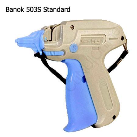 Heftpistole Banok 503S Etikettierpistole / Anschießpistole inkl. Standard Nadel