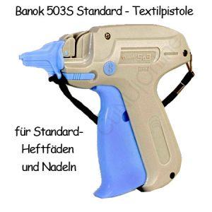 Heftpistole, Anschießpistole, Etikettierpistole Banok 503S
