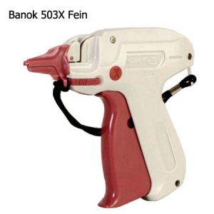Heftpistole mit feiner Nadel Model: Banok 503X Etikettierpistole / Textilpistole