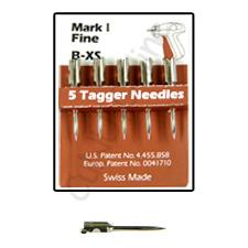 besonders feine Ersatznadeln für Etikettierpistolen mit feiner Nadel (B XS)