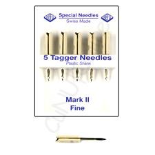 Kombinadeln mit integriertem Messer FEINE Nadeln mit Plastikschaft fein (Q NF)