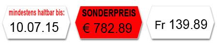 MHD Etiketten, Sonderpreisetiketten, Blanko Etiketten