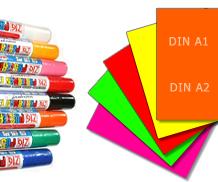 Stifte, Plakatpapier, Plakate, Plakatständer, Listenhalter