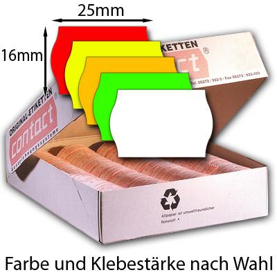 Etiketten 25x16mm Preisetiketten 25x16