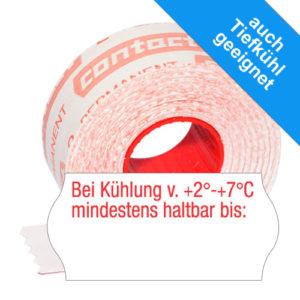 Bei Kühlung von +2°C – +7°C mindestens haltbar bis: