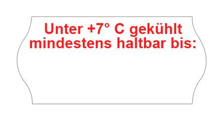 """""""Unter 7° C gekühlt mindestens haltbar bis:"""""""