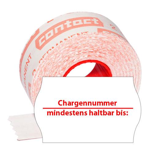 Etiketten mit Chargennummer Etiketten mit MHD KPA023227