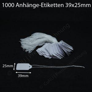 anhänge-etiketten 39x25mm