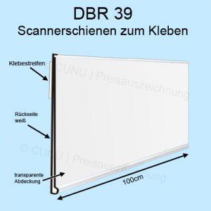 Scannerprofil DBR39 mit weißer Rückseite