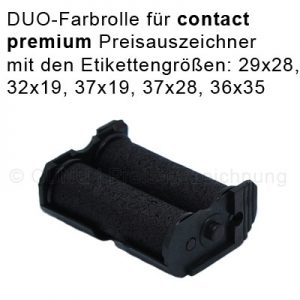 Doppel-Farbrolle für contact