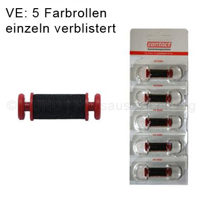 Farbrollen für contact premium Preisauszeichner 5 Stück