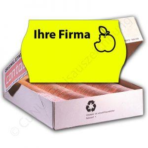 personalisierte Etiketten Frimenetiketten mit Logo und Firmenname