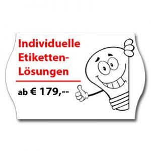 individuelle Etiketten-Lösungen