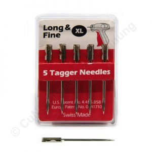 Feine und extra lange Nadel für Textilpistole