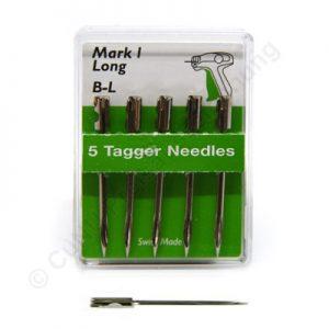 extra lange Ersatznadel für Textilpistole