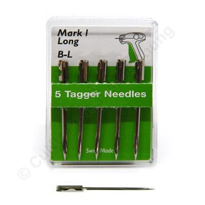 extra lange Ersatznadeln für Textilpistole Banok 503SL Nadel aus Stahl Mark 1 (B L)