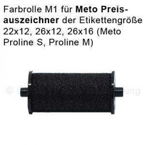 Farbrolle für Meto Preisauszeichner