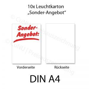 Plakatkarton weiß DINA4 Sonderangebot