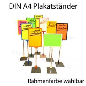 höhenverstellbare DIN A4 Plakatständer