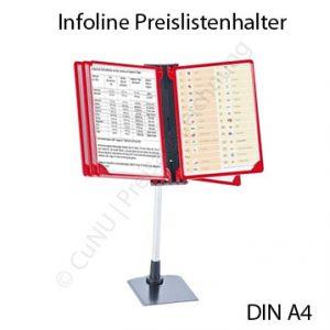 Infoline DIN A4 Listenhalter, Preislistenhalter