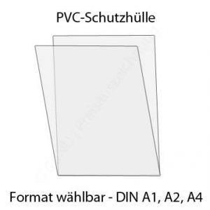 PVC Schutzhülle DINA1, DINA2, DINA4