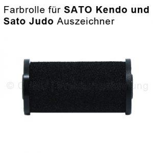 Farbrolle für SATO Preisauszeichner, für die Preisauszeichner Modelle Sato Kendo und SATO Judo, Tinte für Sato