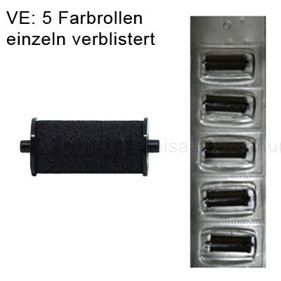 Farbrollen für Meto Preisauszeichner 5 Stück