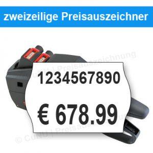 mehrzeilige Preisauszeichner, Etikettiergeräte