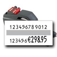 contact 24.37 Preisauszeichner für Artikelnummer, Chargennummer bis zu 12 stellige Nummern auf 37x19mm Etiketten