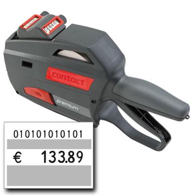 professioneller Preisauszeichner contact premium 3728-20 für 37x28mm Preisetiketten