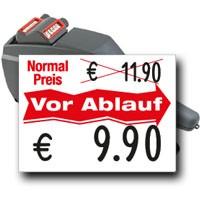 Preisauszeichner für Waren vor Ablaufdatum