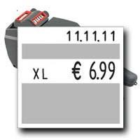 """Eierauszeichner """"contact 20.29 Eier B"""" Auszeichner für Eierkarton Etiketten mit dem Maß 29x28mm"""