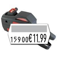Auszeichner für Preisetiketten 25x12mm, 10 Druckstellen