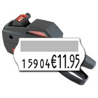 Verkaufspreis mit vorangestellter Artikelnummer Preisauszeichner contact 10.26 für 26x12mm Etiketten