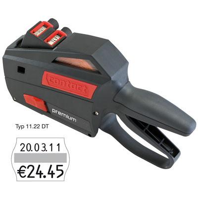 Preis- und Datum- Auszeichner für 22x16mm Etiketten contact 11.22DT