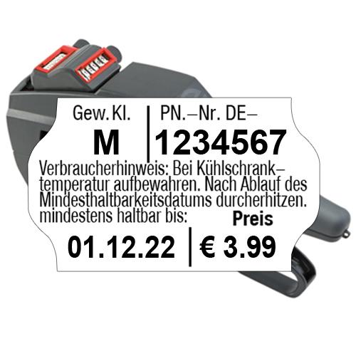 Eierauszeichner für Packstelle, MHD; Gew. Kl und Preis