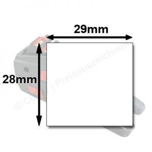 Preisauszeichner für 29x28mm Etiketten