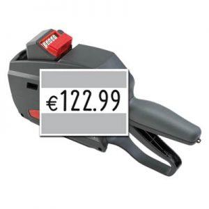 Etikettierer mit großen Zahlen, Großdruck Preisauszeichner contact premium 3728 6, für 37x28mm Etiketten