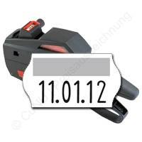Datumsauszeichner für 22x12mm Etiketten, contact premium 6.22 DT, für Preis und Datumsangaben