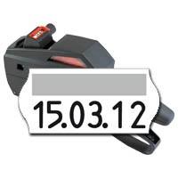 Datumsauszeichner contact premium 6.26 DT, für Datumsabdrucke auf 26x12mm MHD Etiketten, Preisetiketten