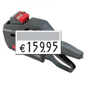 Großdruck Preisauszeichner contact premium 6.37 Super, große Preisabdrucke auf 37x19mm Preisetiketten