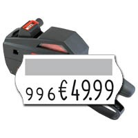 contact Handauszeichner premium 8.26, für Preisangaben auf 26x12mm Etiketten, einzeilig, 8 Druckzeichen