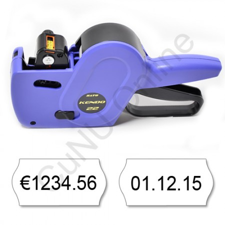 Preis-Datumsauszeichner für 22x12mm Etiketten Sato 22x12-8