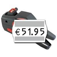 Etikettiergerät für Preise, contact Etikettierer premium 5.16 für 25x16mm Etiketten, 5 Zeichen, einzeilig
