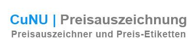 CuNU - Onlineshop für Preisauszeichnung - Preisauszeichner und Preis-Etiketten