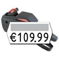 einzeiliger Etikettierer mit 6 Druckstellen für 25x12mm Etiketten contact premium 6.25