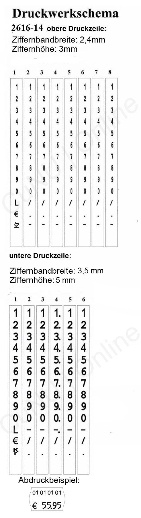 Preisauszeichner contact premium 26.16-14