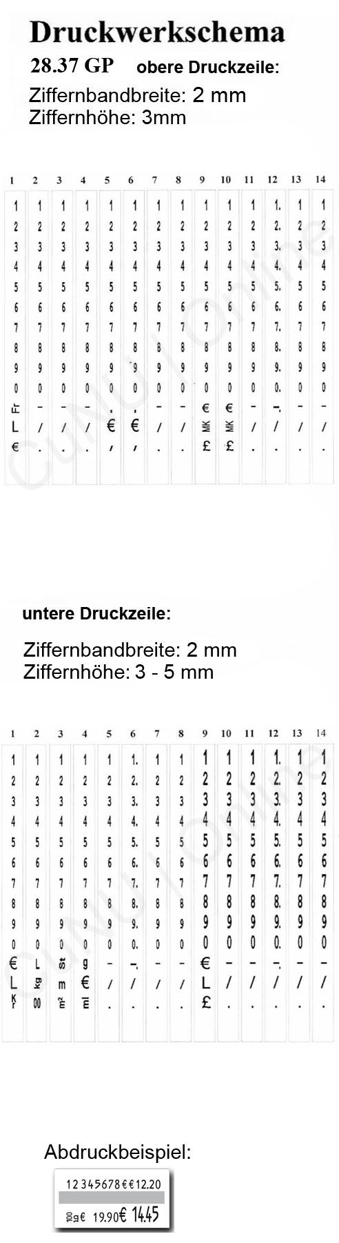 Grundpreis Preisauszeichner